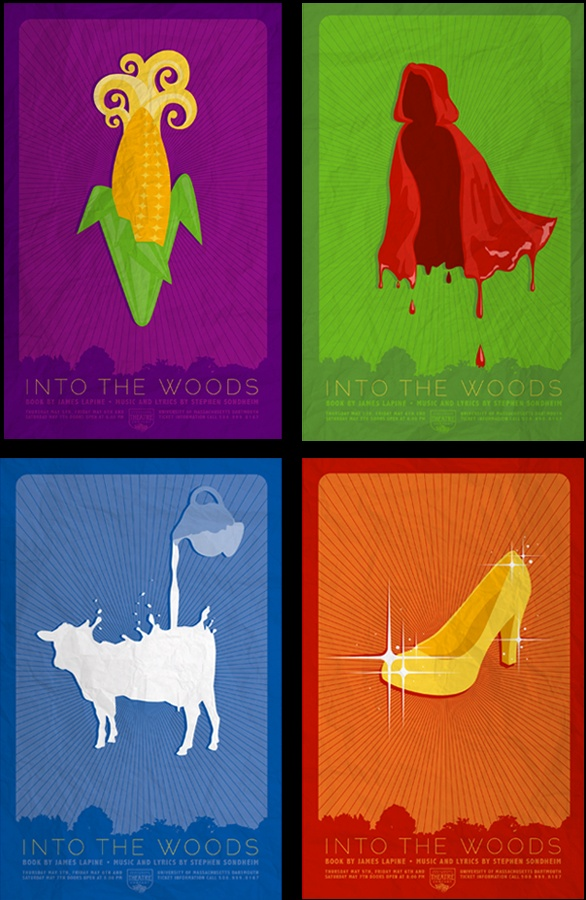 The cow as white as milk, the cape as red as blood, the hair as yellow as corn, the slipper as pure as gold!