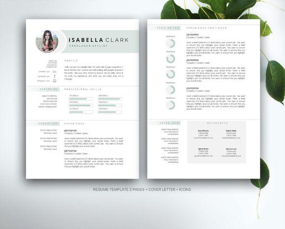 485 best Best Resume Design images on Pinterest Cv template - resume design templates
