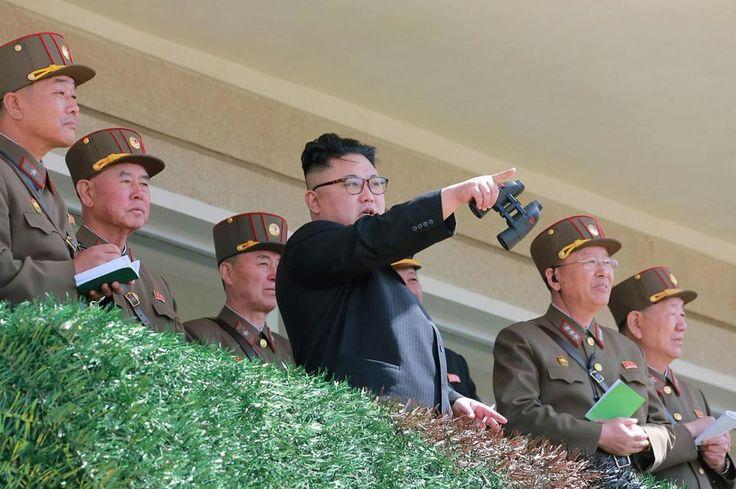 Kim Jong-Un, le 14 avril en Corée du Nord.