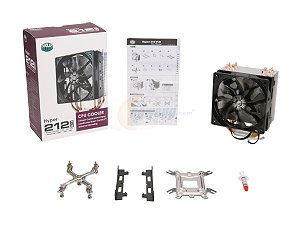 COOLER MASTER Hyper 212 EVO RR-212E-20PK-R2 Continuous Direct Contact 120mm Sleeve CPU Cooler Compatible with latest Intel ...