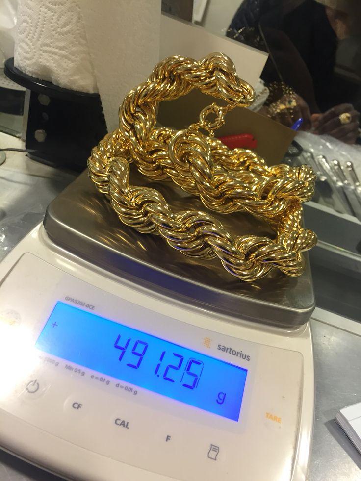 Gold chain by maxgoud