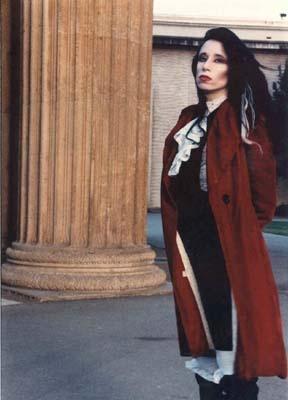Danielle Willis † #vampire #vamp #gothic #underground #performanceartist #writer #bloodsports #bloodplay #cape #controversy #controversial #model #CharlesGatewood #photobook #TrueBlood #author #DogsInLingerie