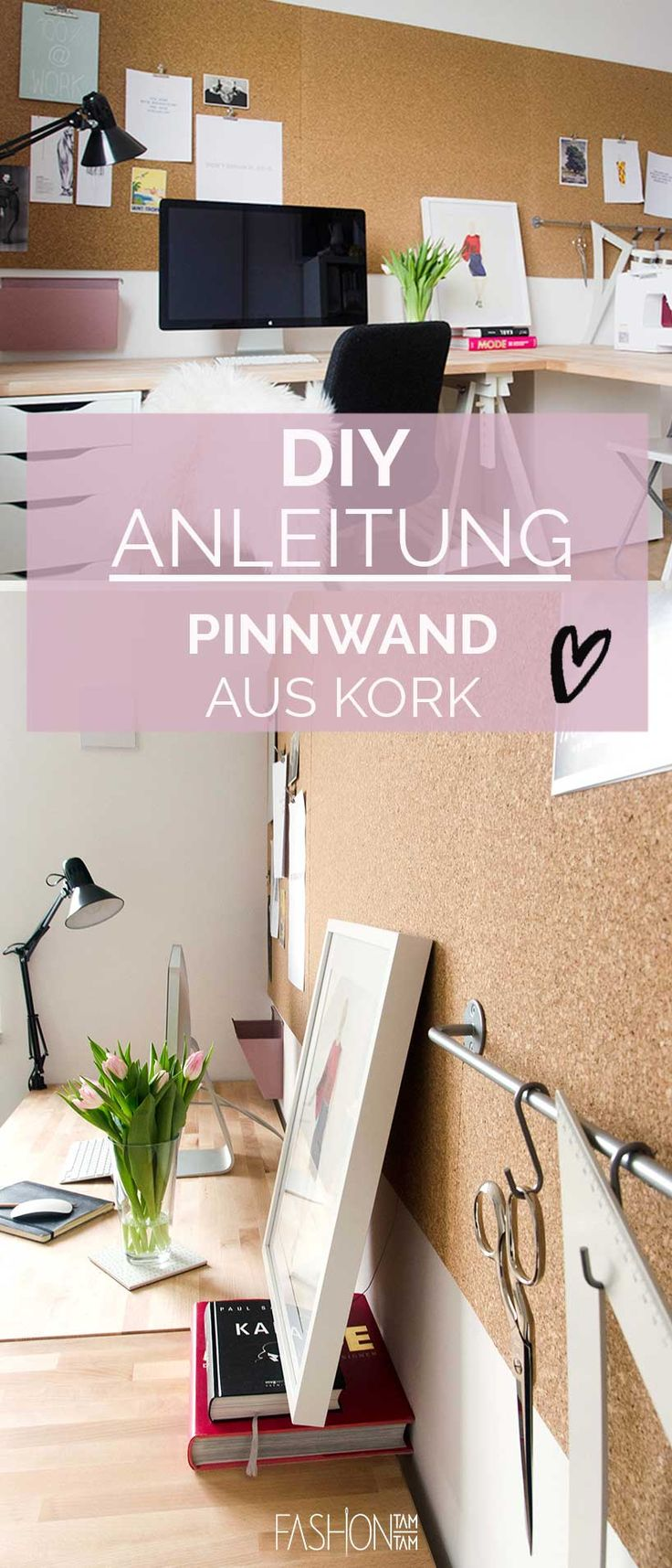 die besten 25 pinnwand kork ideen auf pinterest pinwand. Black Bedroom Furniture Sets. Home Design Ideas