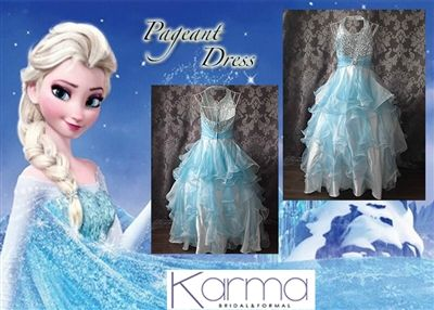 Little Girl Pageant Dress - Size 4 - Karmabridal.com