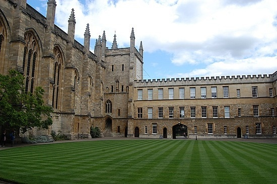 Wadham college Oxford - where I'm staying!!!