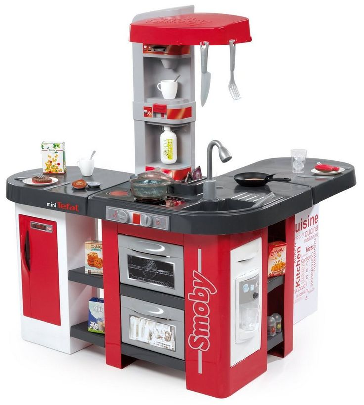 Smoby Spielküche, »Tefal Studio Bubble XXL Küche« für 119,99€. Kinder Spielküche »Tefal Studio Bubble XXL«, Ab 3 Jahren bei OTTO
