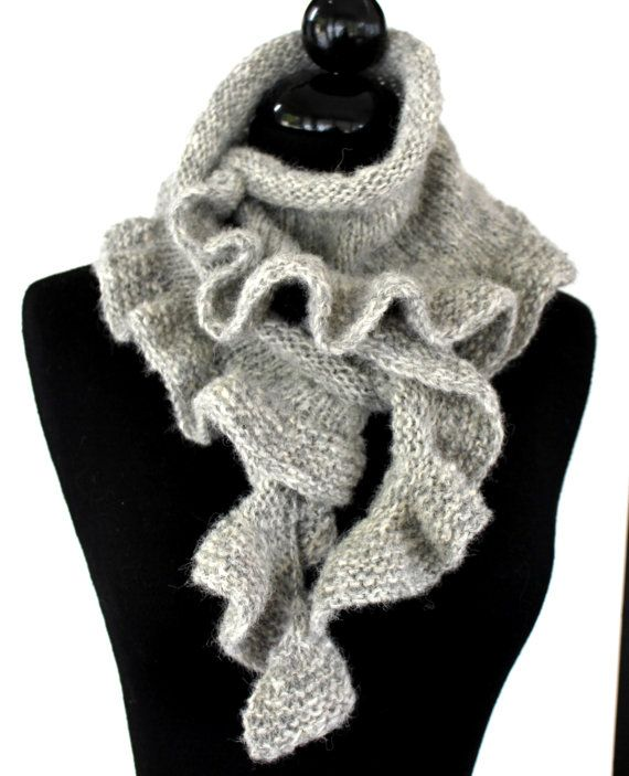 PATTERN   Dancing Waves Scarf Knitting Pattern by AbsoluteKnits, $5.00