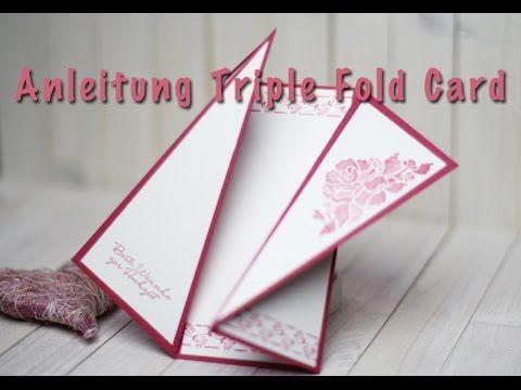 "{ Conibaers creative desk } Constanzes kreatives Blog: Anleitung für eine ""Triple Fold Card"""