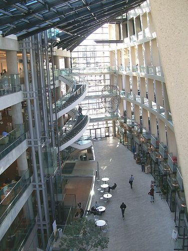 Atrium of the Downtown Salt Lake Library in Salt Lake City, Utah | Flickr - Photo Sharing!