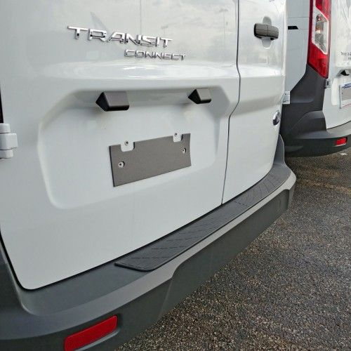 Ford Transit Connect Rear Bumper Protector 2012 2019 Rbp 008 Ford Transit Bumper Protector Rear Bumper Protector