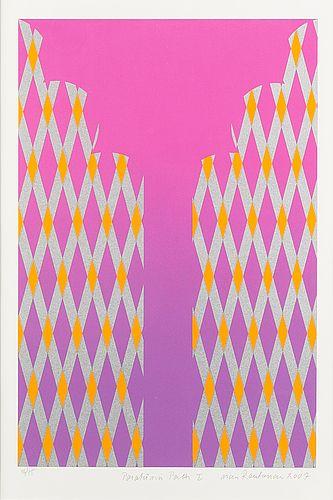 Mari Rantanen: Paratiisin portti I, 2007, serigrafia, 44,5x29,5 cm, edition 46/75 - Bukowskis Market 5/2016