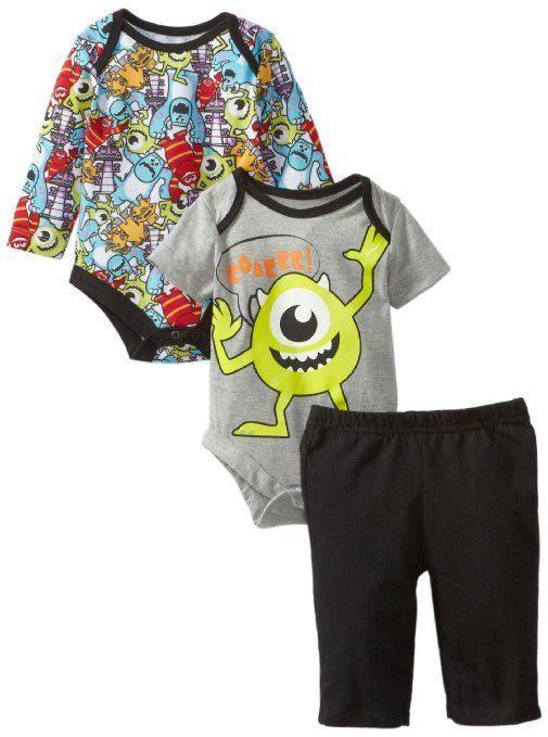Amazon.com: Disney Baby Baby-Boys Newborn 2 Piece Boysuit with Pant Set-6: Clothing