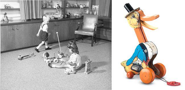 Glückliche Kinder machen glückliche Spielzeugerfinder! Dieser oder einer ähnlichen Erkenntnis entsprang vermutlich die Idee des Spielzeuglabels Fisher-Price. Der amerikanische Spielwarenhersteller entwickelte 1968 ein Spielelabor für Kinder.