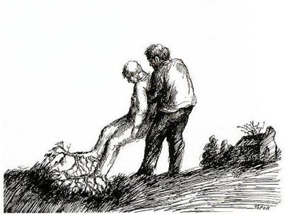 Roland Topor - Jardinage