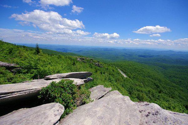 Looking Glass Rock Hike, near Asheville North Carolina