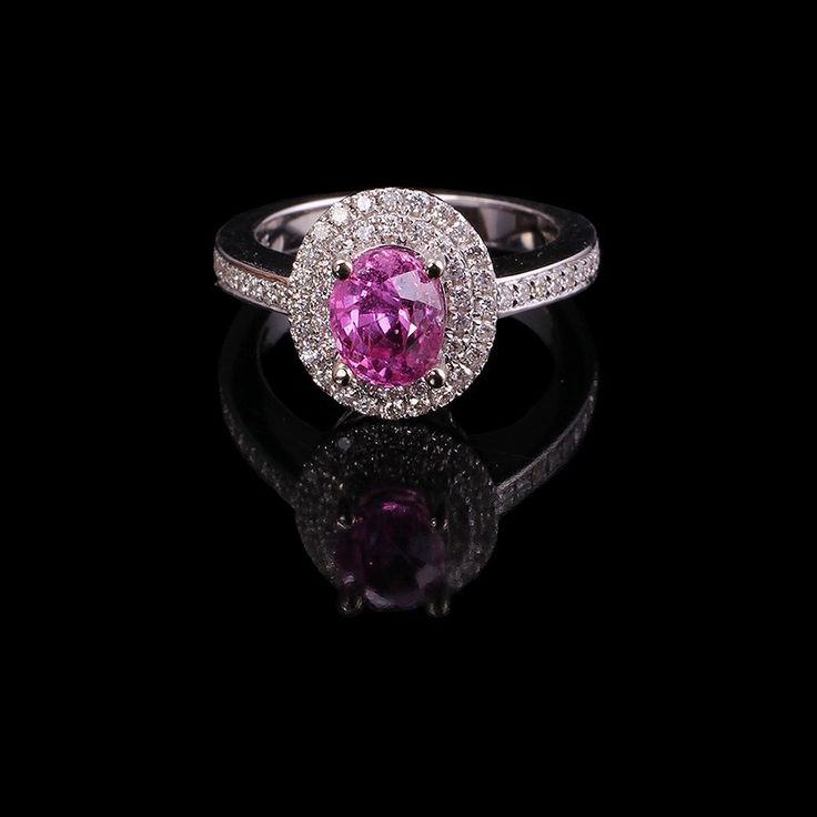 Pink and White Diamond Ring on auction at #graysonline #ring #diamond #pinkdiamond #diamondsareagirlsbestfriend #Jewelry #jewellry #auction #bid #online #$9startprice