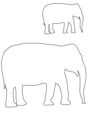 De 25+ bedste idéer inden for Elephant template på