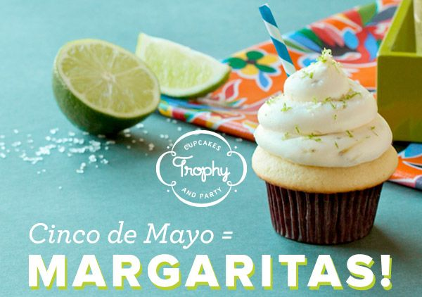 Seeking Sweetness in Everyday Life - CakeSpy - Cake Byte: Trophy Cupcakes Offers Margarita Cupcakes forMay