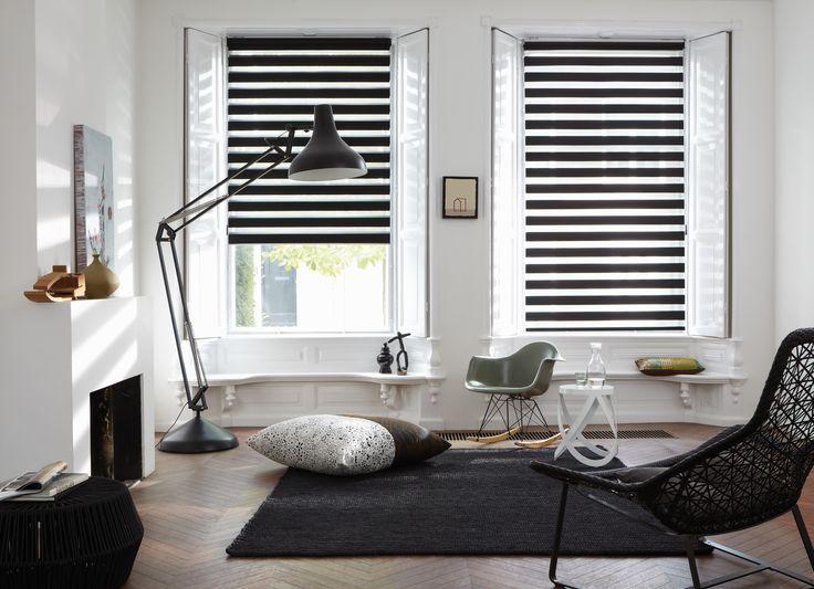 #interior #window #decoration #windowdecoration #design #modern #livingroom #relax #black #white #blackandwhite