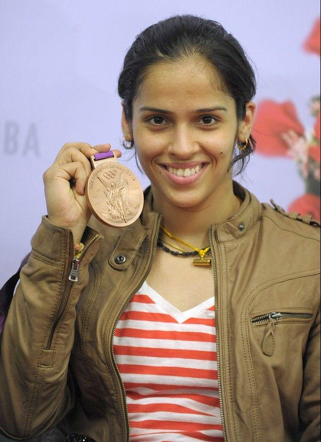 Badminton Players at Olympics | No. 9: Saina Nehwal - Badminton player and Olympics Bronze Medallist