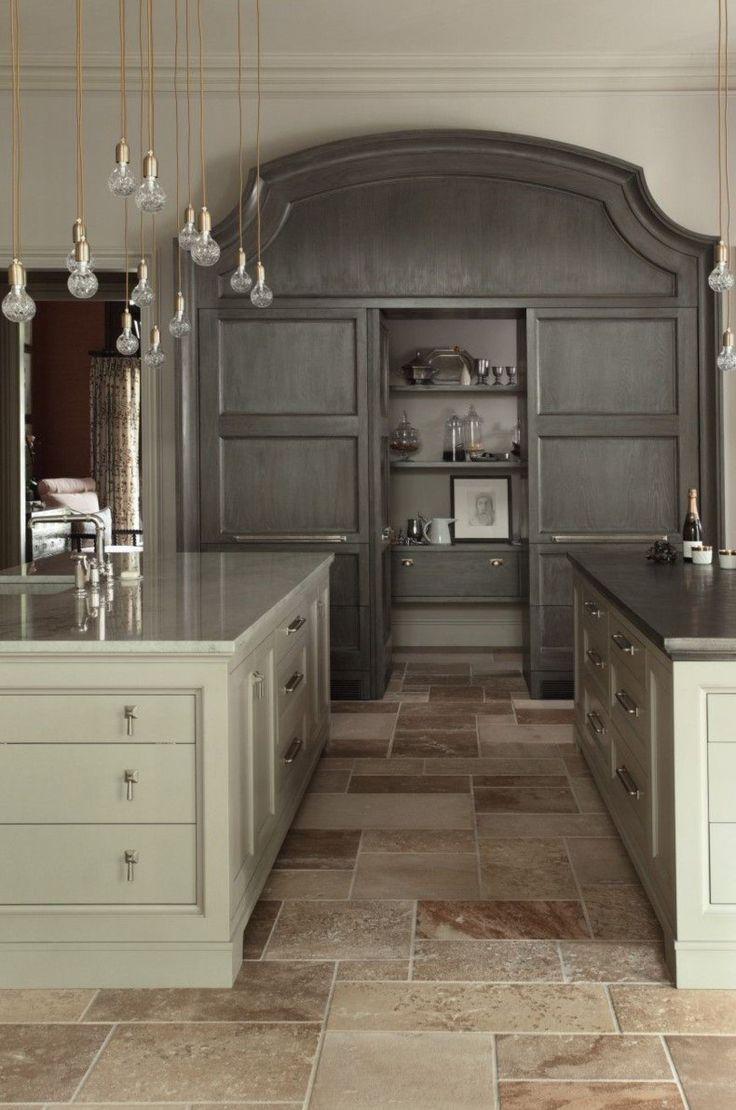 Gray Shade Kitchen Layout Design 8606 best