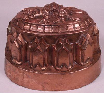 Extra Large Antique Victorian Era Copper Cake Jelly Food Mold 175 | eBay