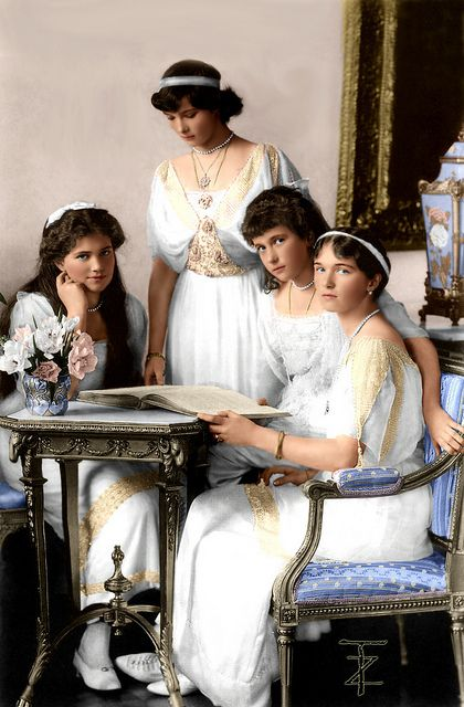 OTMA : The daughters of Tsar Nicholas II    OTMA was an acronym sometimes used by the four daughters of Russian emperor Nicholas II and Alexandra Feodorovna as a group nickname for themselves, built from the first letter of each girl's name in the order of their births: Olga, Tatiana, Maria, Anastasia.