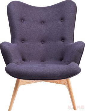 Arm Chair Angels Wings Dark Grey New Design