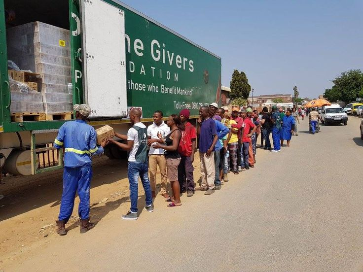 A Shout Out to Gift of the Givers and FANTASTIC Support from Corporate SA