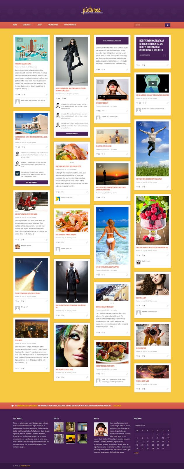 Pintores-Pinterest-like-Theme-for-WordPress