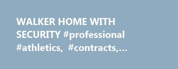 """WALKER HOME WITH SECURITY #professional #athletics, #contracts, #football http://washington.remmont.com/walker-home-with-security-professional-athletics-contracts-football/  # WALKER HOME WITH SECURITY Published: February 26, 1983 WRIGHTSVILLE, Ga. Feb. 25 A sign on Route 15 entering town proclaims, """"Welcome to Wrightsville, Home of Herschel Walker."""" Another red sign is posted at the main intersection congratulating Walker on winning the Heisman Trophy last year. Wrightsville's most famous…"""