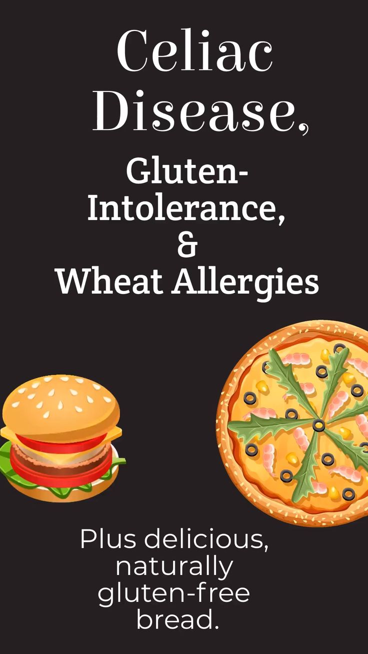 Celiac Disease, Gluten Intolerance, and Wheat Allergies ...