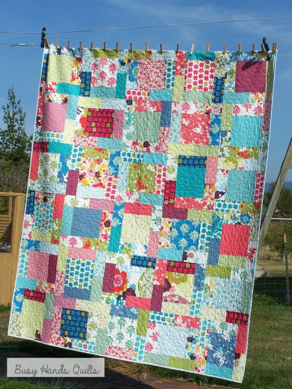 284 best Quilts I've Made images on Pinterest | Quilts, Quilt ... : easy homemade quilts - Adamdwight.com