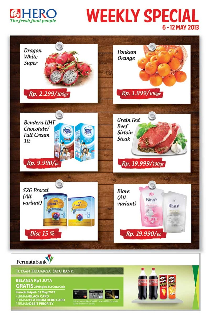 Weekly Special promo Hero (06 - 12 May 2013)
