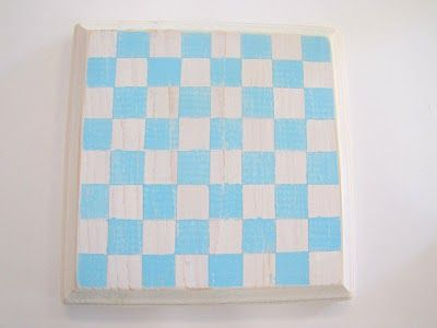 Button Checker Board TUTORIAL {cottage chic style} - craft - Little Miss Momma