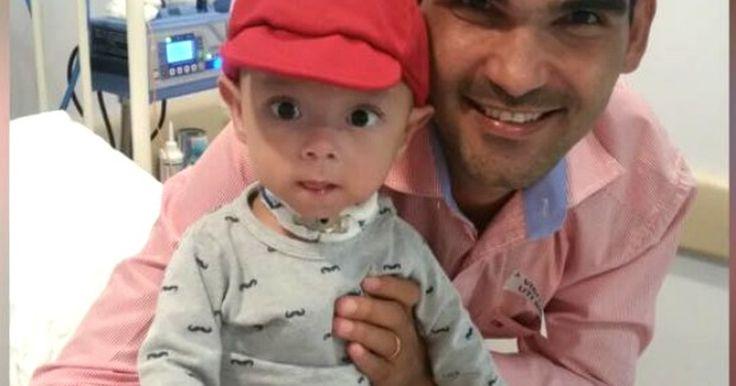 Pai faz bingo de carro em MT para pagar transplante de intestino do filho