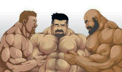 Dating bears cartoon gay
