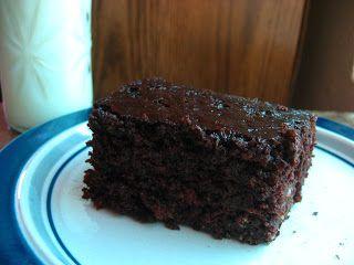 Grandma's Chocolate Mayonnaise Cake - Nourishing Simplicity