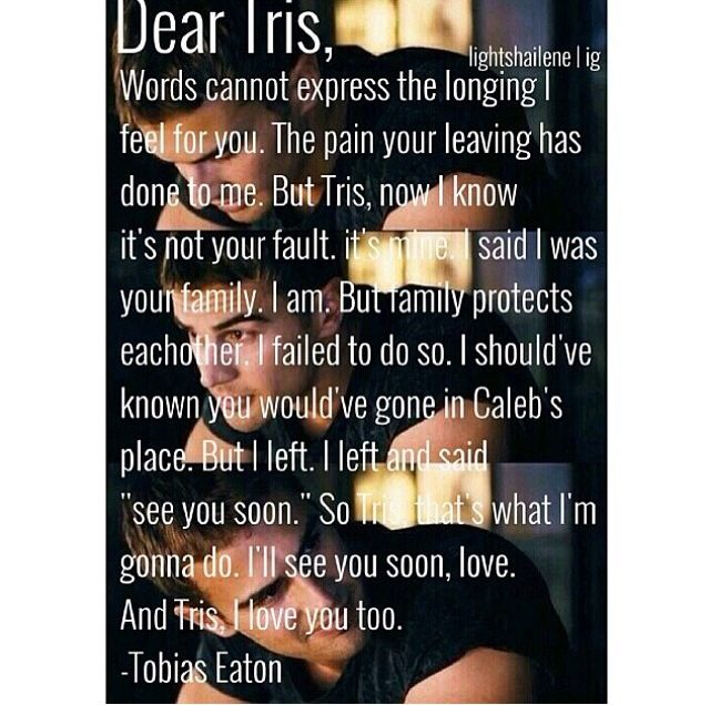 Spoiler Alert: Tris DIES in Allegiant! Stop waiting for the movie and read the book... #sorrynotsorry
