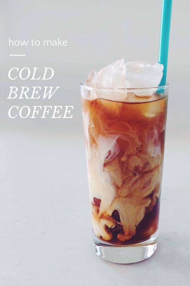 COLD BREW COFFEE how to make | Seasons, Coffee concentrate ...
