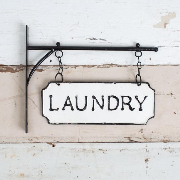 Hanging Laundry Sign Laundry Signs Harp Design Co Wall Decor