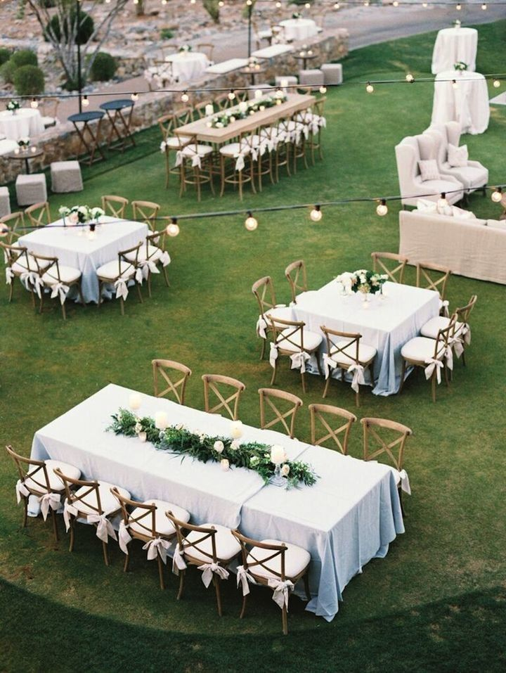 Gorgeous wedding reception idea; Photo: Erich McVey Photography