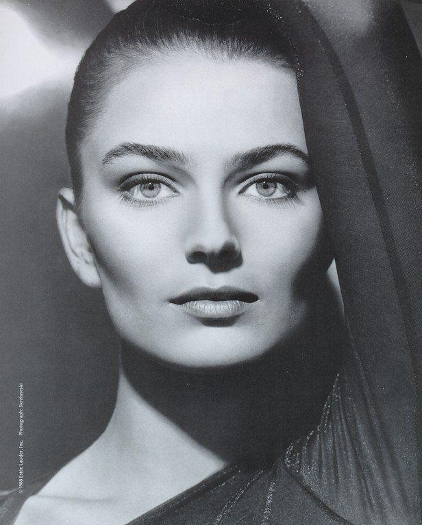 Paulina Porizkova - forever the face of Estée Lauder.