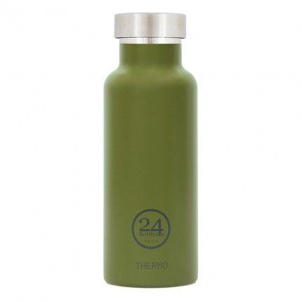 THERMO Trinkflasche Edelstahl 0,5L von 24bottles