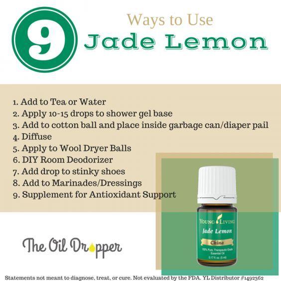 Ways to Use Jade Lemon Essential Oil