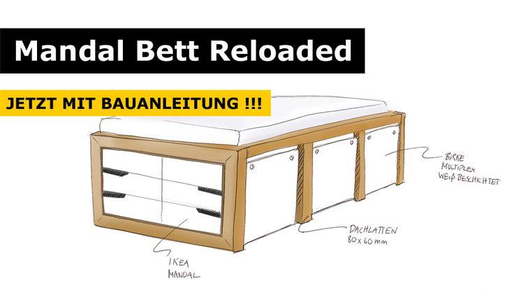 Kleiderschrank Ikea Aspelund Neupreis ~   Bett Mit Stauraum auf Pinterest  Stauraum, Bopita Bett und Bettbezug