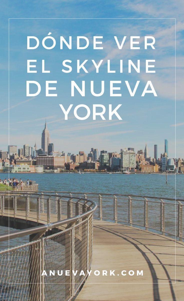 10 lugares para disfrutar del skyline de Nueva York por menos de $5