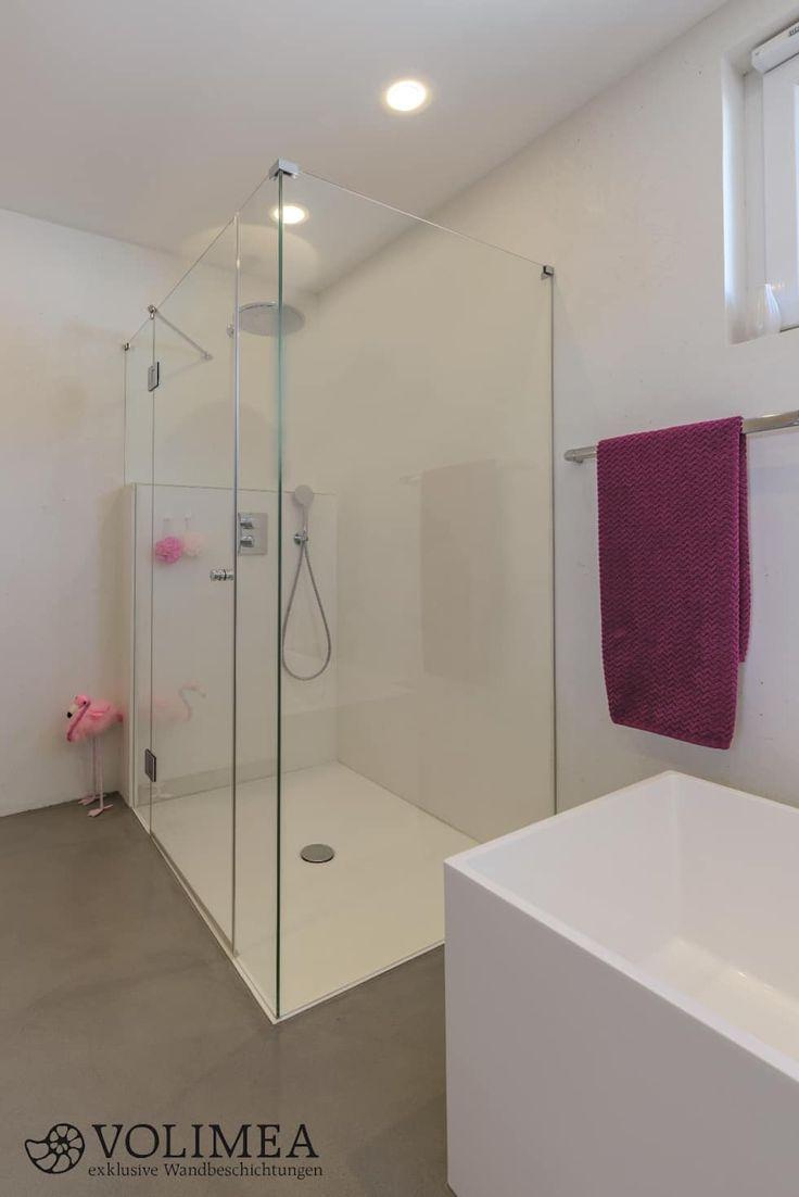 Finest Fugenloses Bad Mit Dusche Moderne Badezimmer Von Volimea Gmbh U Cie  Kg With Dusche Ohne Fugen.