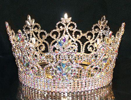 TRF00079ABGOLD Tiara Connection, Wholesale Crowns, Pageant Tiaras ...