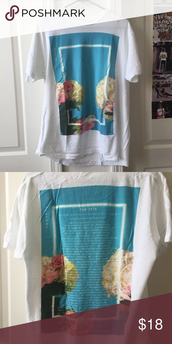 The 1975 Tour Shirt The 1975 tour shirt. Worn once, like new condition. the 1975 Tops Tees - Short Sleeve